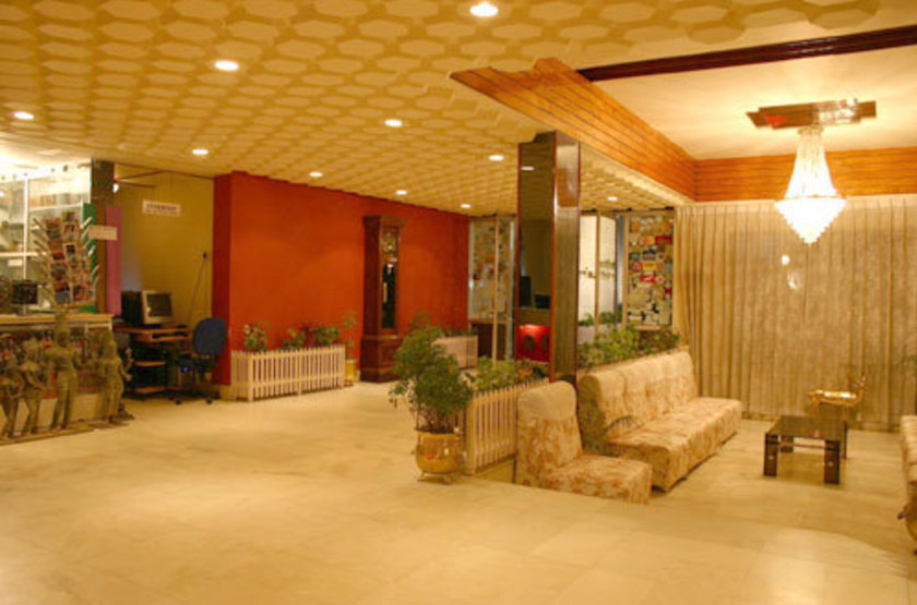 Parisutham Hotel, Thanjavur, Inde, salon