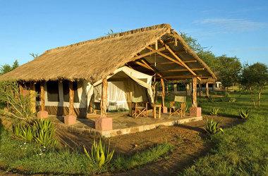 Ikoma bush camp   exterieur tente 2 listing