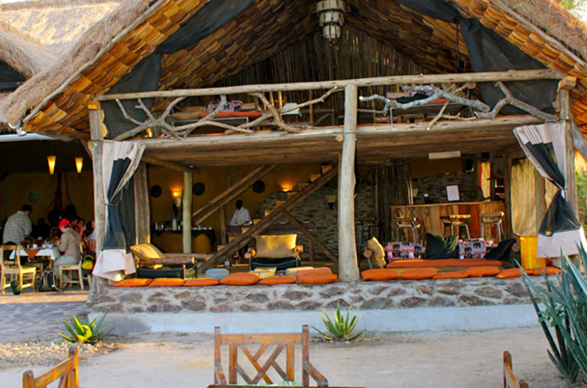 Ikoma bush camp   partie communes slideshow