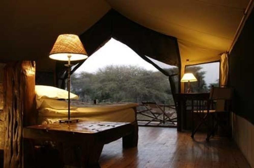 Jongomero Camp, parc de Ruaha, Tanzanie, intérieur