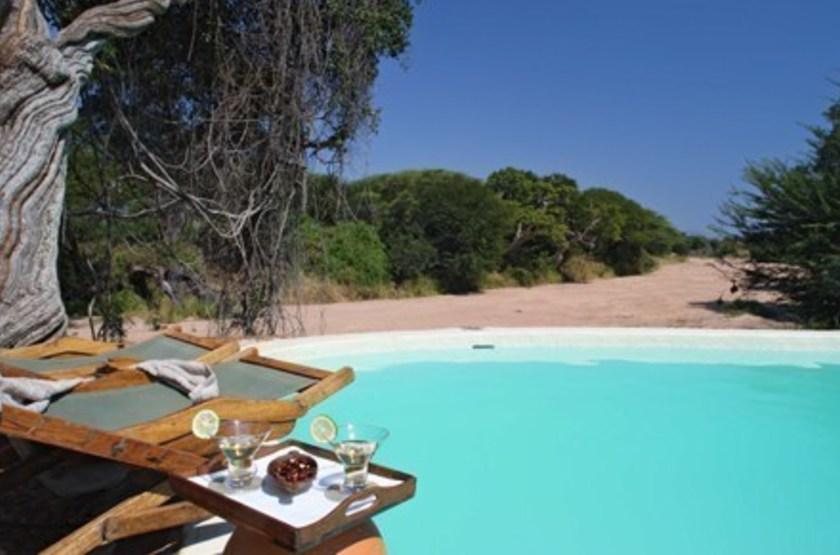 Jongomero Camp, parc de Ruaha, Tanzanie, piscine