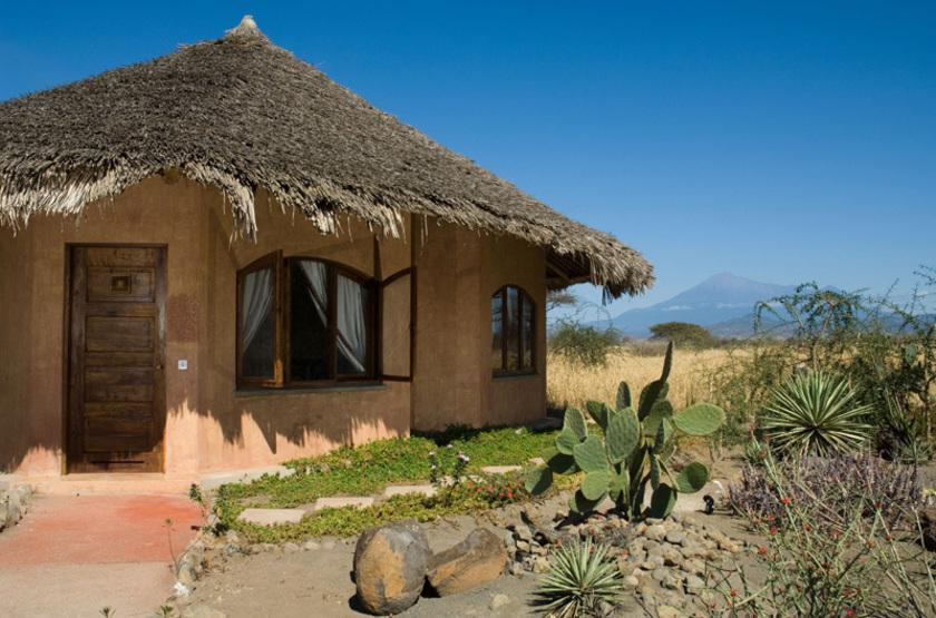 Kia Lodge, Arusha, Tanzanie, bungalow