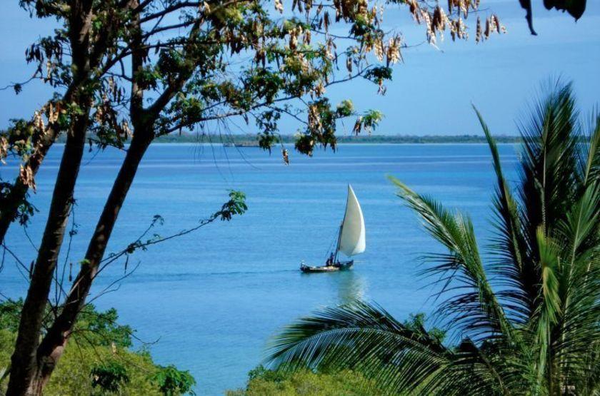 Kinasi Lodge, Ile de Mafia, Zanzibar, vue mer