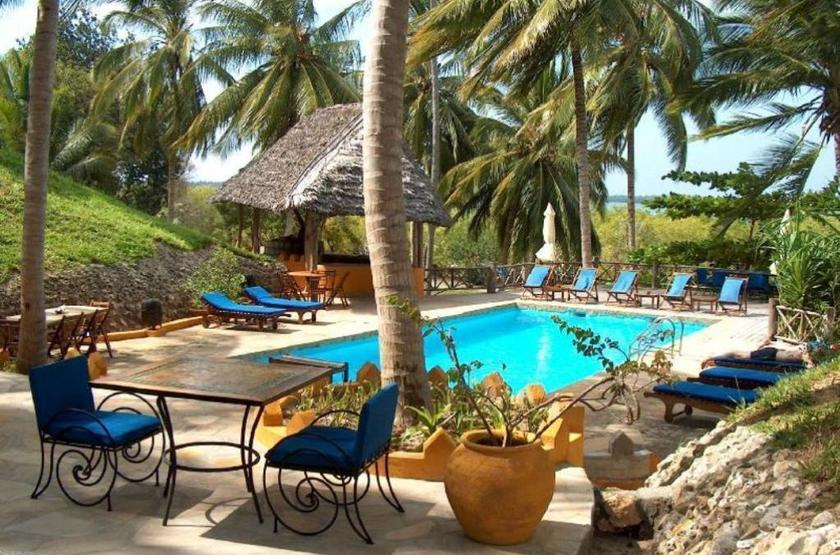 Kinasi lodge   mafia island tanzanie   piscine slideshow