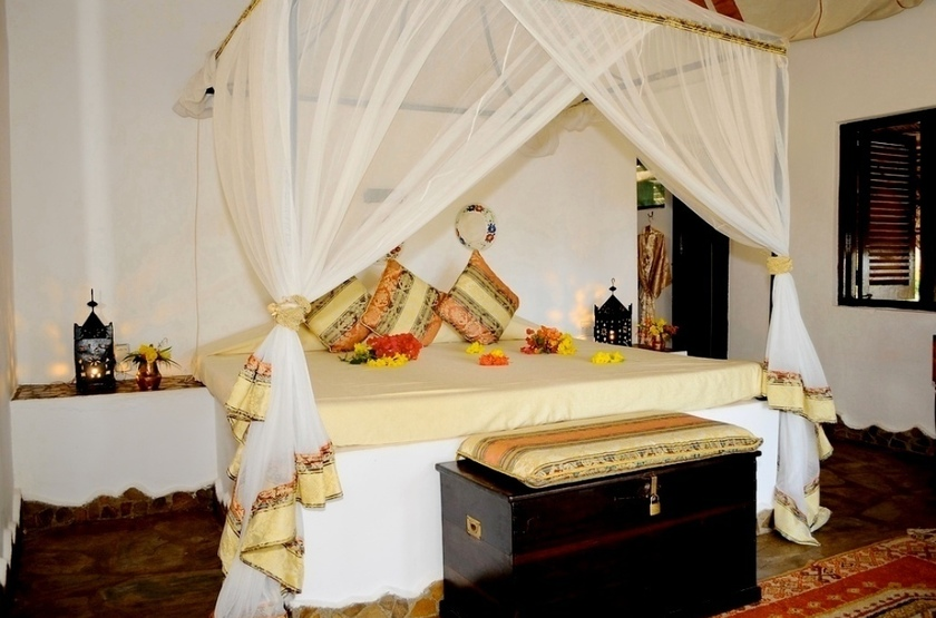 Kinasi Lodge, Ile de Mafia, Zanzibar, chambre