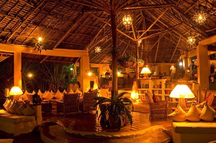 Kinasi lodge   mafia island tanzanie   restaurant slideshow