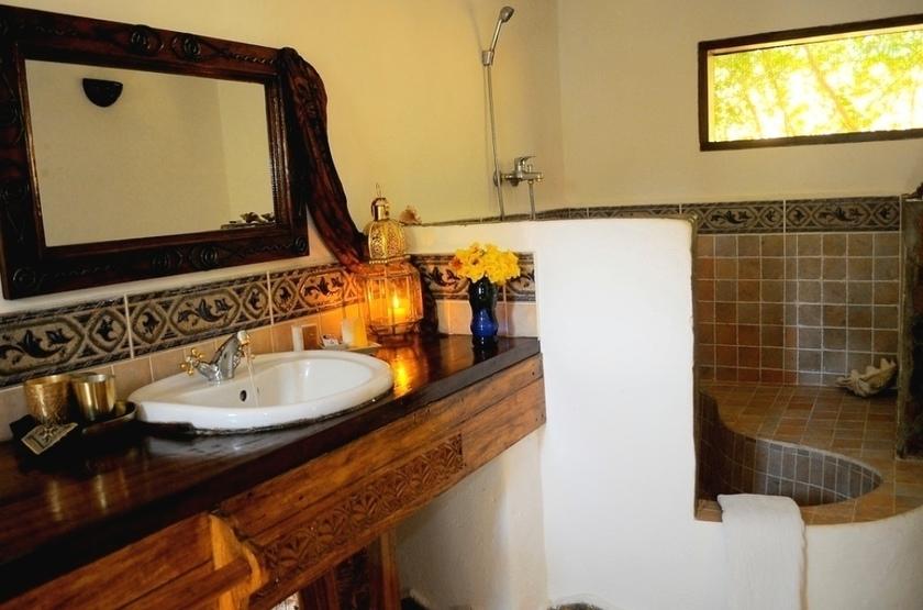 Kinasi lodge   mafia island tanzanie   salle de bain slideshow