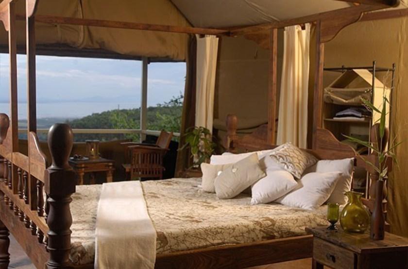 Kirurumu Manyara Lodge, Tanzanie, chambre