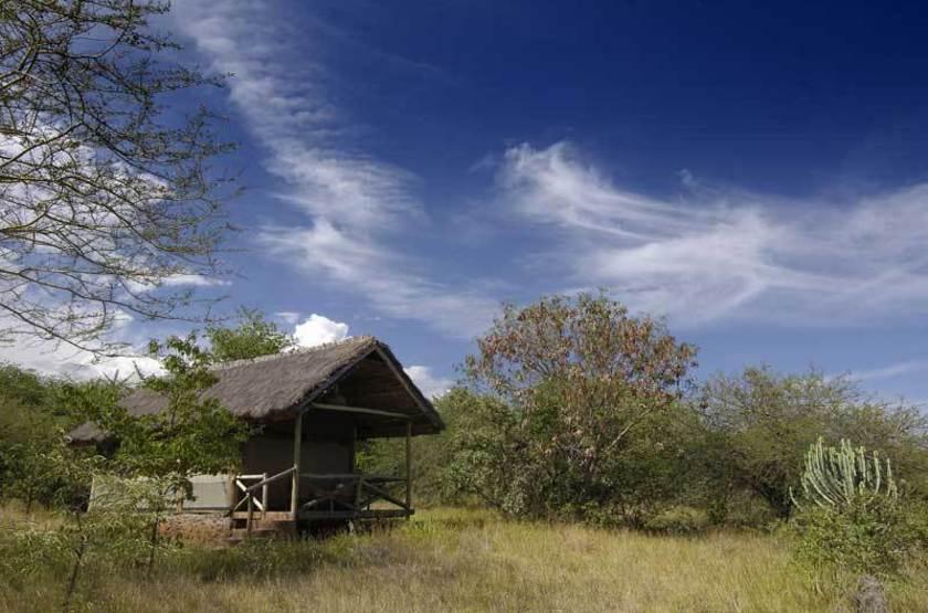 Kirurumu Manyara Lodge, Tanzanie, tente