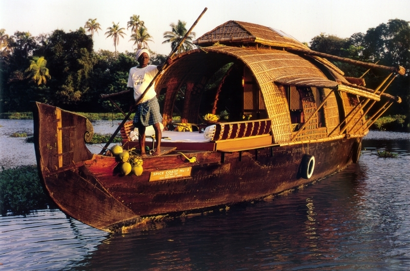 House boat or kettuvalom   inde   bateau slideshow