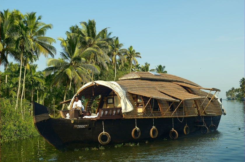 House boat or kettuvalom   inde   bateau 4 slideshow