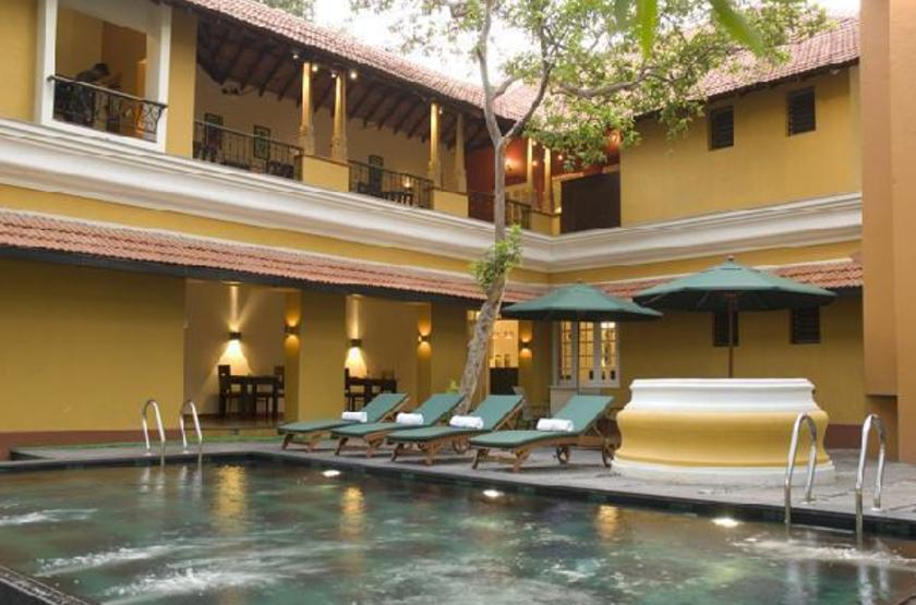 Tea Bungalow Fort Cochin, Inde, piscine