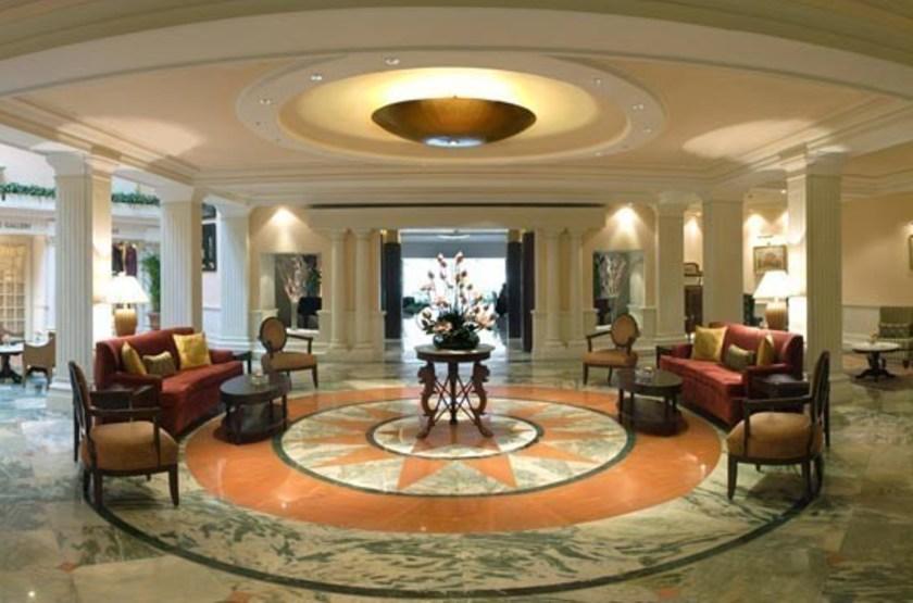 The Claridges Hôtel, Delhi, Inde, lobby