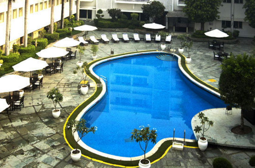 The Claridges Hôtel, Delhi, Inde, piscine
