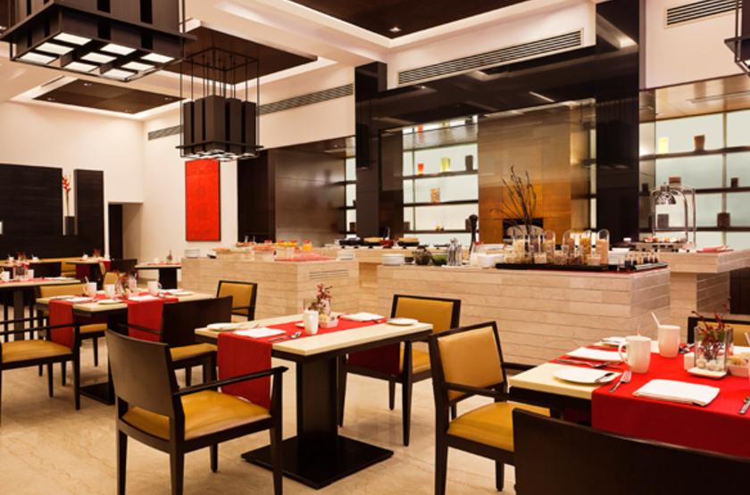 Trident Hôtel Agra, Inde, restaurant