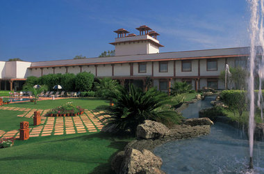 Trident hotel   agra inde   facade listing