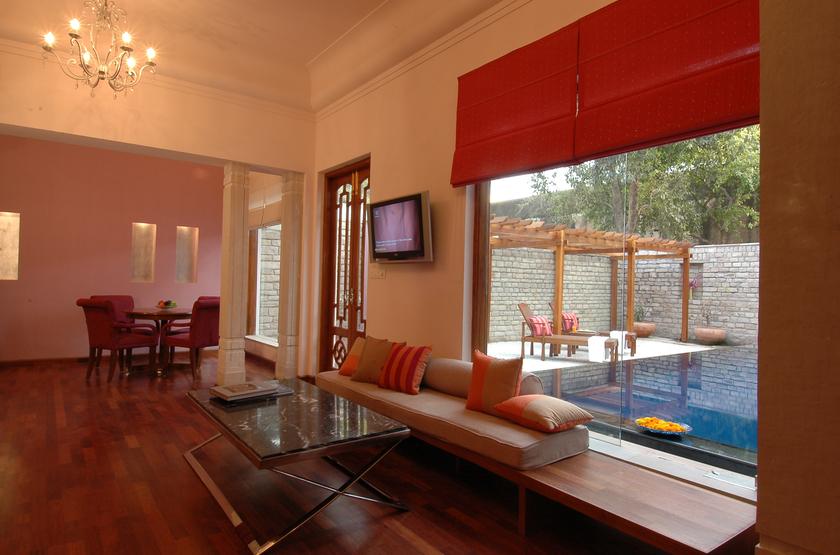 Usha Kiran Palace, Gwalior, Inde, suite