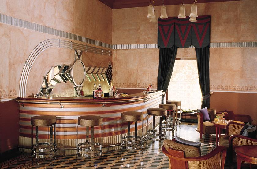 Usha Kiran Palace, Gwalior, Inde, bar