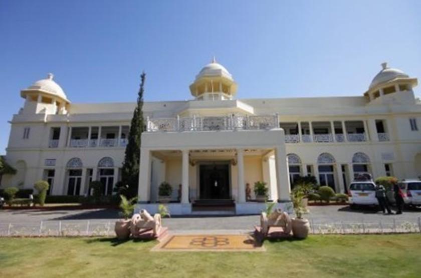 The Lalit Laxmi Vilas Palace, Udaipur, Inde, extérieur