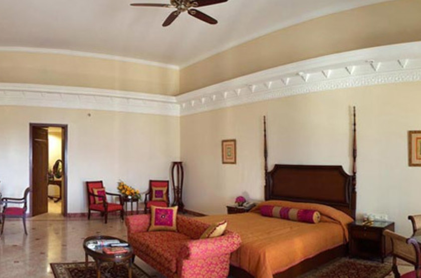 The Lalit Laxmi Vilas Palace, Udaipur, Inde, chambre