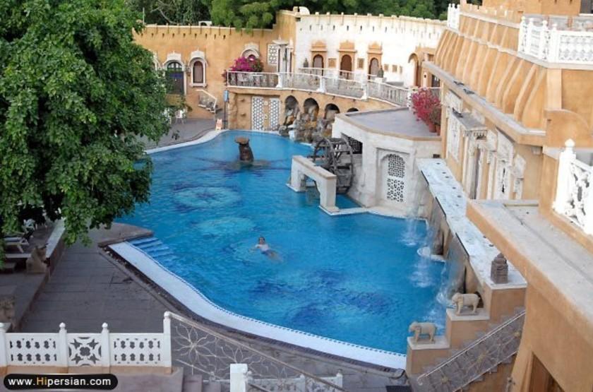 Ajit bhawan palace   jodhpur inde   piscine slideshow