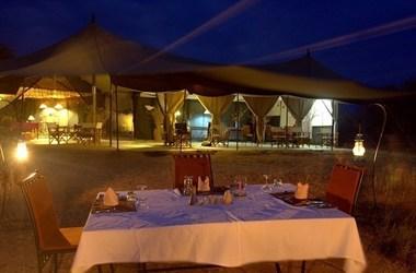 Kwihala tented camp   ruhala   diner listing