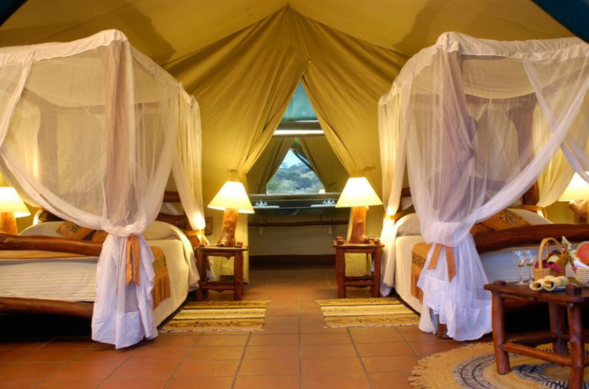 Mbuzi Mawe Camp, Serengeti, Tanzanie, intérieur