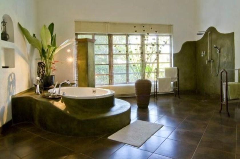Plantation Lodge, Ngorongoro, Tanzanie, salle de bains