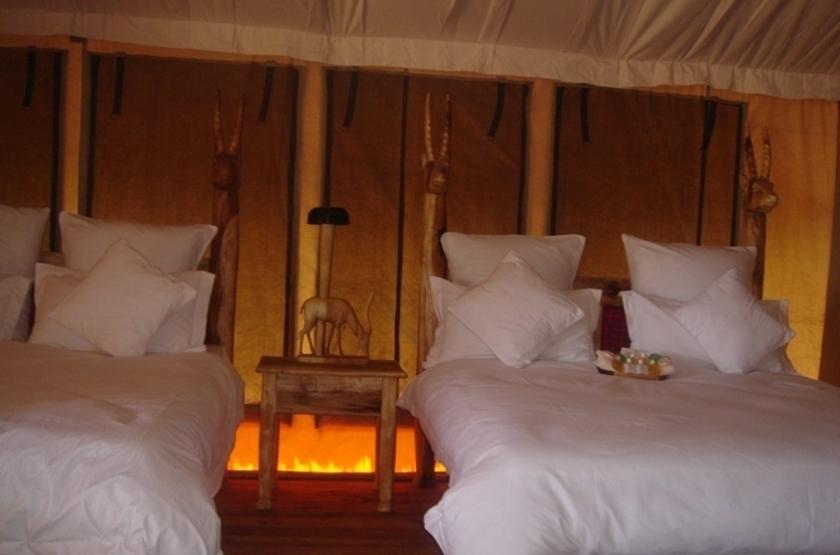 Roika Tarangire Tented Lodge, Tanzanie, intérieur