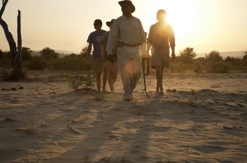 Sand Rivers, Reserve de Selous, Tanzanie, safari à pied