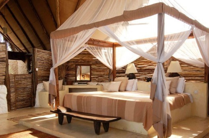 Sand river camp   selous   interieur chambre slideshow