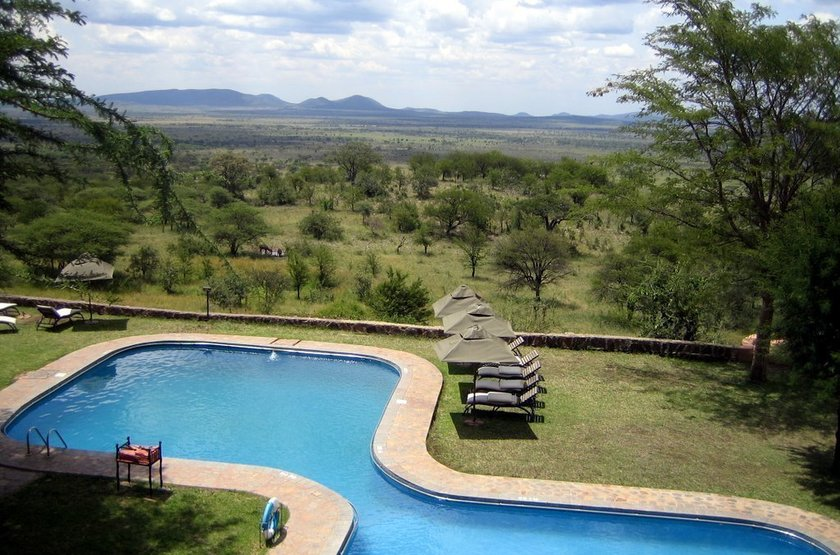 Serengeti Sopa Lodge, Tanzanie, piscine