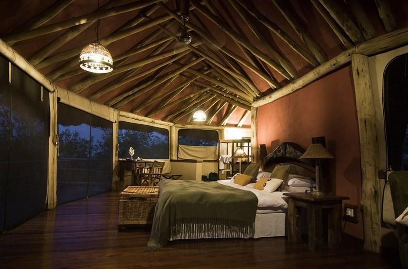 Tarangire Treetops, Concession privée, Tanzanie, intérieur
