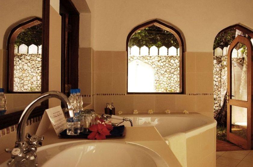 Bluebay Beach Resort & Spa, Kiwengwa, Zanzibar, salle de bains