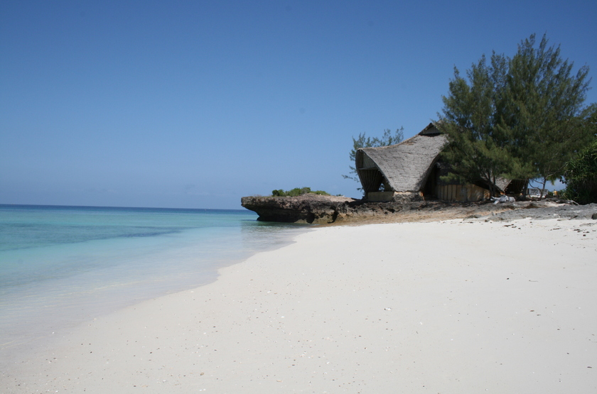 Chumbe Island Coral Park, Ile privée, Zanzibar, plage