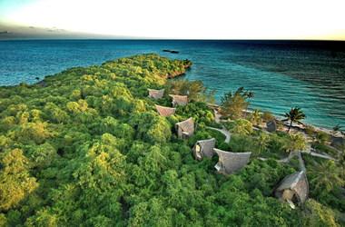 Chumbe island lodge   vue a rienne listing