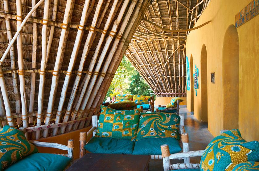 Chumbe Island Coral Park, Ile privée, Zanzibar, salon principal