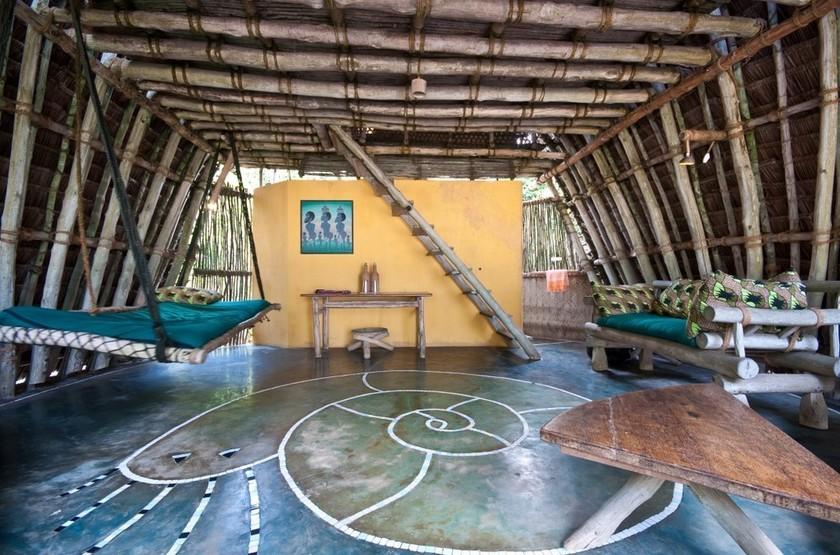 Chumbe Island Coral Park, Ile privée, Zanzibar, salon