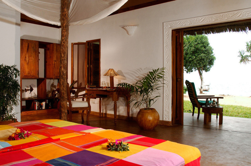 Fumba Beach Lodge, Menai Bay, Zanzibar, chambre