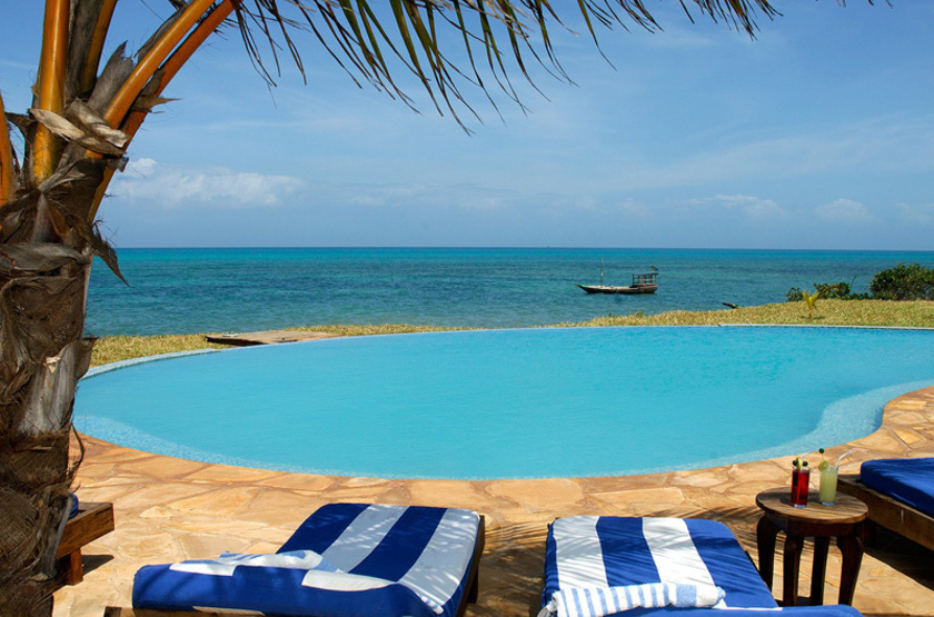 Fumba Beach Lodge, Menai Bay, Zanzibar, piscine