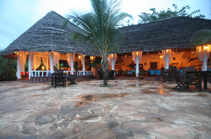 Fumba Beach Lodge, Menai Bay, Zanzibar, restaurant