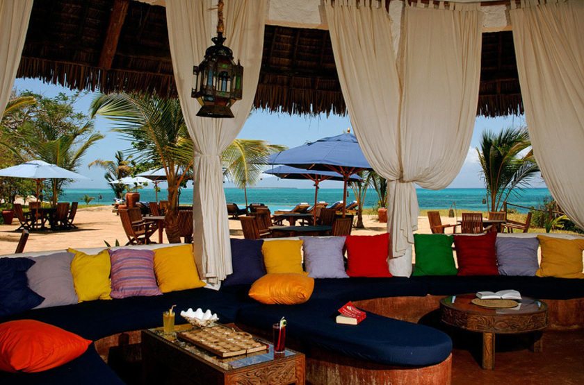 Fumba Beach Lodge, Menai Bay, Zanzibar, salon