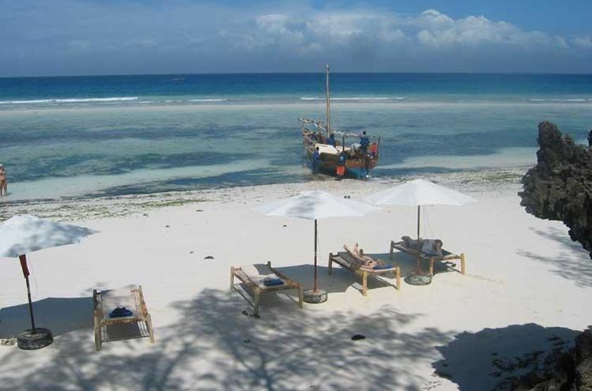 Fumba Beach Lodge, Menai Bay, Zanzibar, plage