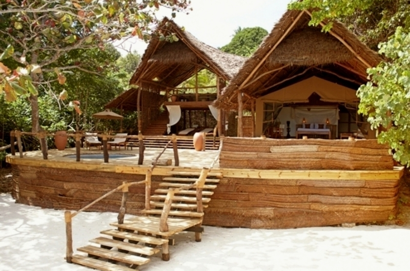 Fundu lagoon lodge   pemba   bungalow 2 slideshow