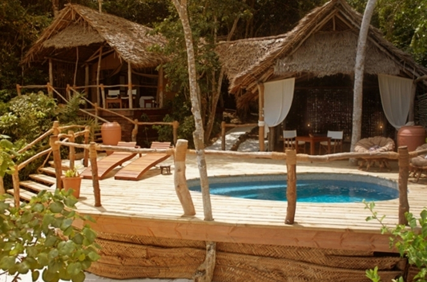 Fundu lagoon resort bungalow slideshow