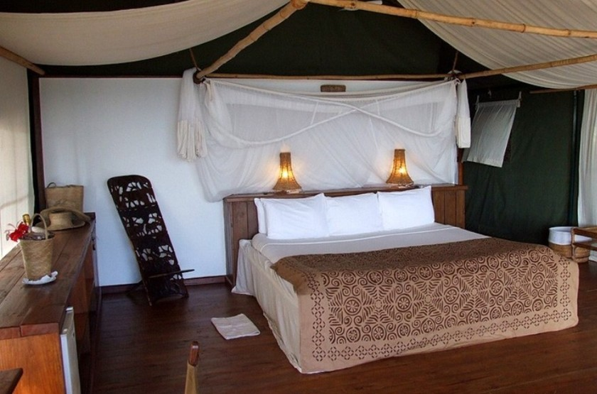 Fundu lagoon resort  chambre slideshow