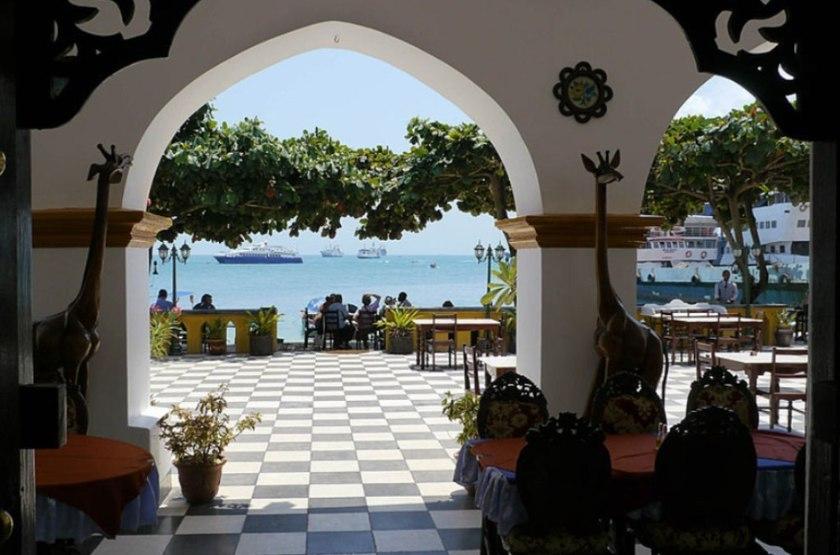 Tembo House, Stone Town, Zanzibar, entrée