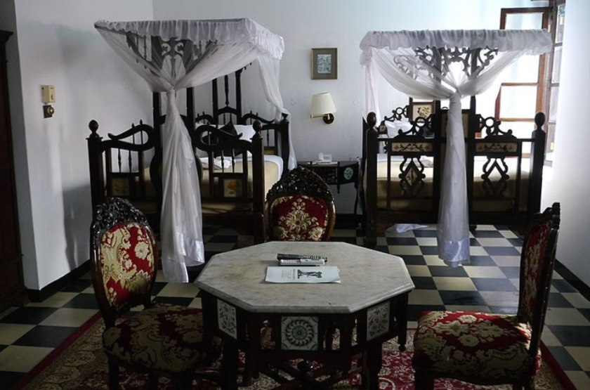 Tembo House, Stone Town, Zanzibar, chambre
