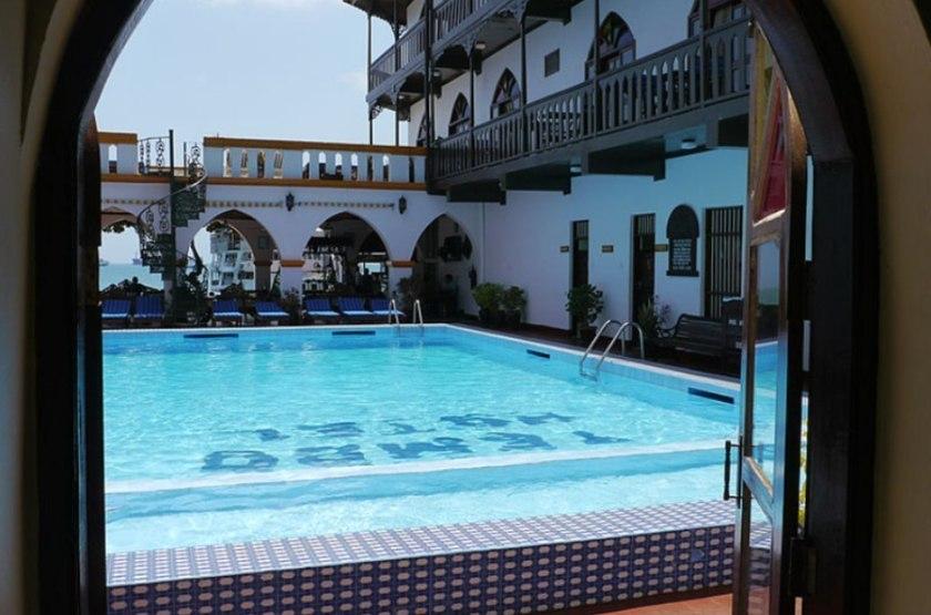 Tembo House, Stone Town, Zanzibar, piscine