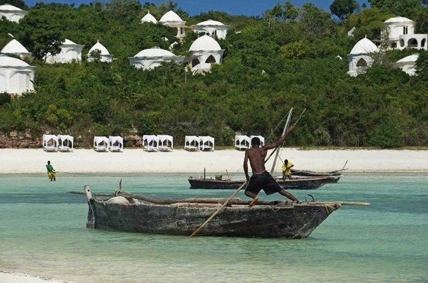 Kilindi Hotel, Zanzibar, vue de la mer